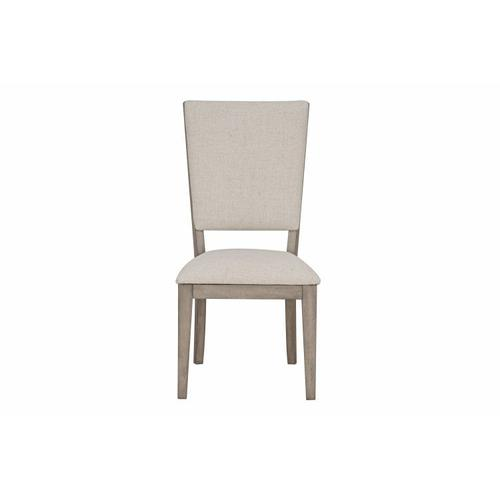 Standard Furniture - Venue 2-Pack Upholstered Square Back Dining Chairs, Brown