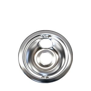 Frigidaire - Smart Choice 6'' Chrome Drip Bowl