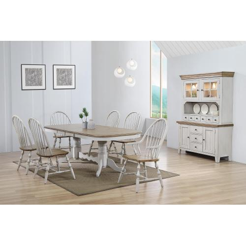 Product Image - Double Pedestal Extendable Dining Table Set - Country Grove (8 Piece)