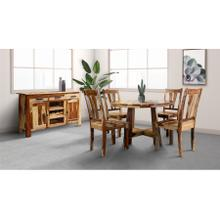 Kalispell Round Dining Table Set, PDU-13
