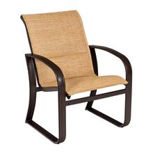 Cayman Isle Padded Sling Dining Armchair