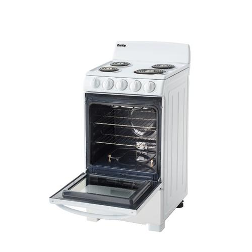 """Product Image - Danby 20"""" Free Standing Electric Coil Range"""