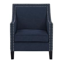 See Details - Hailey Accent Chair, Navy