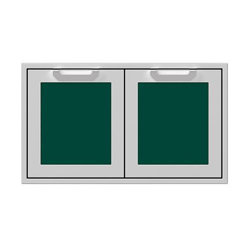 """36"""" Hestan Outdoor Double Storage Doors - AGSD Series - Grove"""
