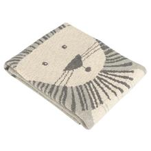 See Details - Dandy Lion Throw - Grey