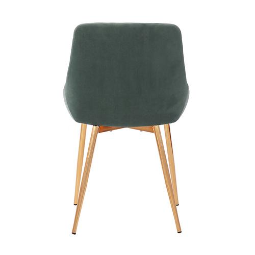 Heidi Sage Velvet Dining Accent Chair
