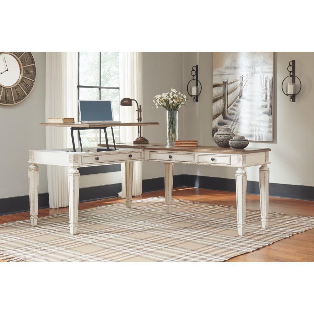 Realyn 2-piece Home Office Lift Top Desk