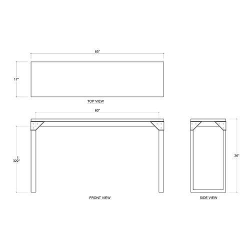 Gallery - Yosemite Counter Table
