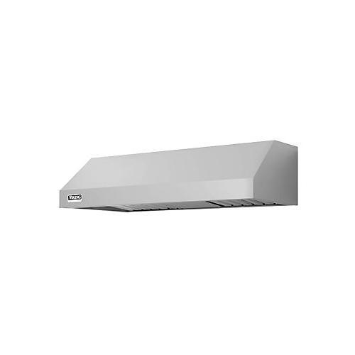"36"" Wide 10"" High Wall Hood + Ventilator, Chrome Accessory Rail"