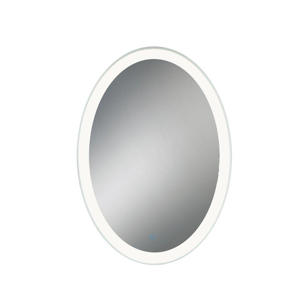 """See Details - 25""""W X 35""""H OVAL MIRROR"""
