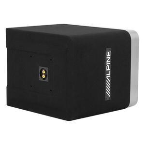 """Gallery - Single 10"""" Alpine Halo S-Series Preloaded Subwoofer Enclosure with ProLink """""""