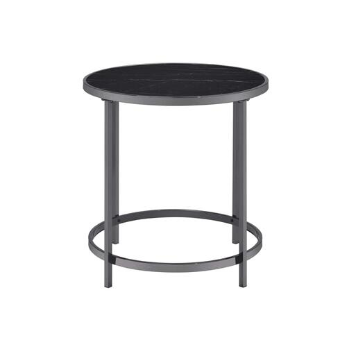 Rayne End Table, Black