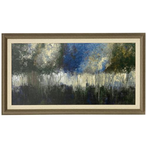 Style Craft - NATURAL FANTASY  46in w X 26in ht  Made in USA  Textured Framed Print