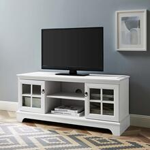 """Pacific 47"""" TV Stand in White"""