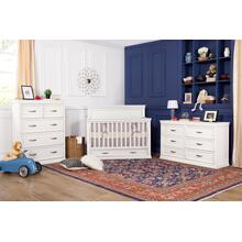 Langford 6-Drawer Dresser in Warm White