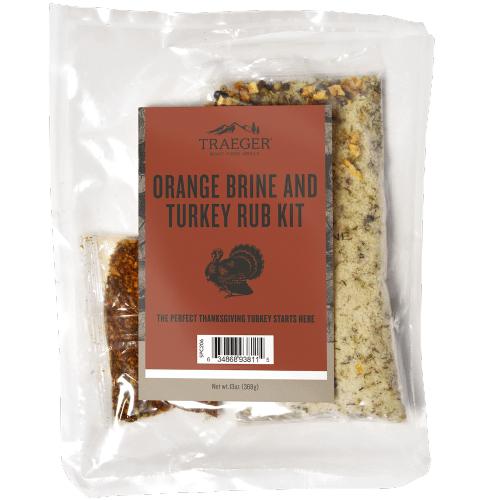 Traeger Grills - Traeger Orange Brine and Turkey Rub Kit