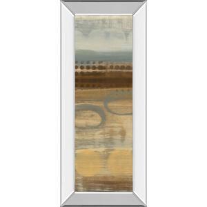 """Movement Panel I"" By Jeni Lee Mirror Framed Print Wall Art"