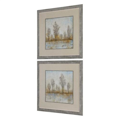 Quiet Nature Framed Prints, S/2