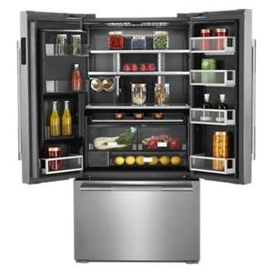 """JennAir - RISE™ 72"""" Counter-Depth French Door Refrigerator with Obsidian Interior"""