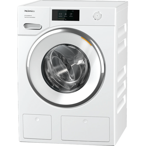 Miele - WXR 860 WCS TDos & IntenseWash - W1 Front-loading washing machine with TwinDos, IntenseWash, and Miele@home for ultimate cleanliness and comfort.