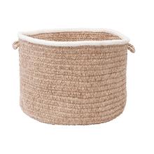 "Silhouette Basket SL85 Sand 14"" X 10"""