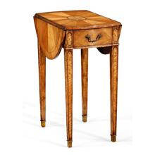 Satinwood Pembroke Table (Small)