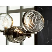 See Details - Wall Sconce, Less Lens - Nickel Silver