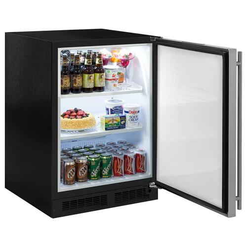 24-In Built-In High-Capacity All Refrigerator with Door Swing - Right