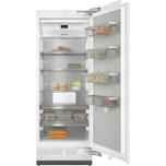 MieleF 2801 Vi - MasterCool(TM) freezer For high-end design and technology on a large scale.