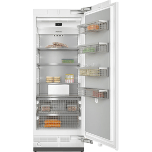 MieleF 2801 Vi - MasterCool™ freezer For high-end design and technology on a large scale.