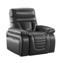 See Details - Power Recliner W/ Power Headrest-black