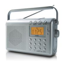 Digital AM/FM/NOAA Radio with Dual Alarms