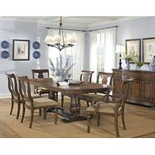 Americana Trestle Dining Room