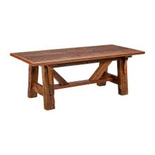 Mossy Oak Royal Mission Dining Table - (6′)