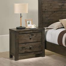 See Details - Pavita Weathered Distressed Night Stand