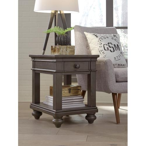 Aspen Furniture - Chairside Table