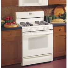 "Used GE Profile Spectra 30"" Free-Standing Gas Range with Warming Drawer"