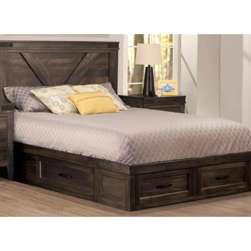 Handstone - Chattanooga 4 Drawer King Condo Bed (2 on end/1 each side)