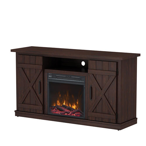 Cottonwood TV Stand with Electric Fireplace - CURRENTLY SOLD OUT