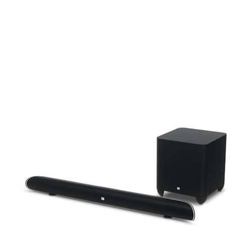 Cinema SB 450 4K Ultra-HD soundbar with wireless subwoofer.