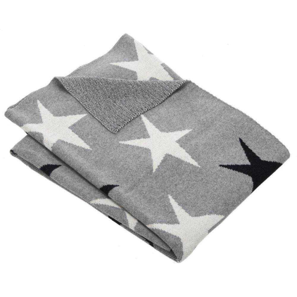 Star Throw - Grey