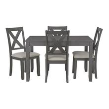 See Details - Sandpiper Gray Kitchen Table Set