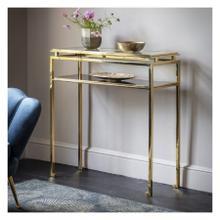 GA Cosenza Console Table Gold
