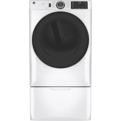 GE® Long Vent 7.8 cu. ft. Capacity Smart Electric Dryer with Sanitize Cycle
