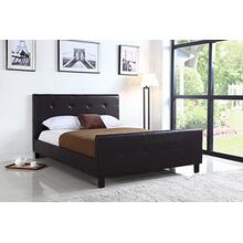 7506 PU Platform Bed - QUEEN