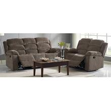 Dual Rec Power Sofa w/ Headrest