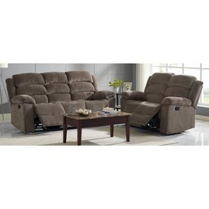 Dual Rec Power Loveseat w/ Headrest
