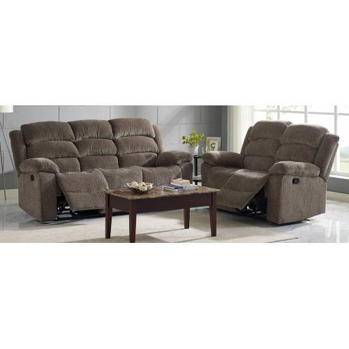 Product Image - Dual Rec Power Sofa w/ Headrest