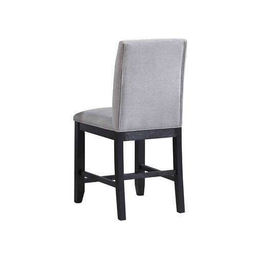 Yves Counter Chair, Grey