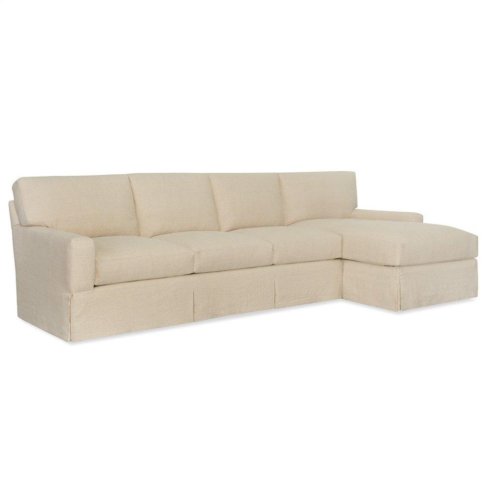 Track Arm Deep Sectional